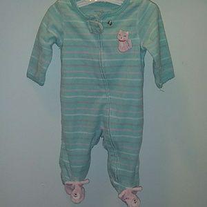 Carter's cat pajama